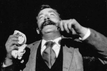 Fred Ott's Sneeze, an 1894 five-second film, shot by William K.L. Dickson for the Edison Manufacturing Company
