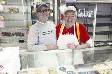 John and Rinaldo Stolfo in their bakery (Marc Katz)
