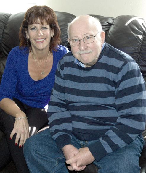 Kidney donor Debbie DiSalvo with recipient Jerry Halasz (Photo: Scott Halasz)