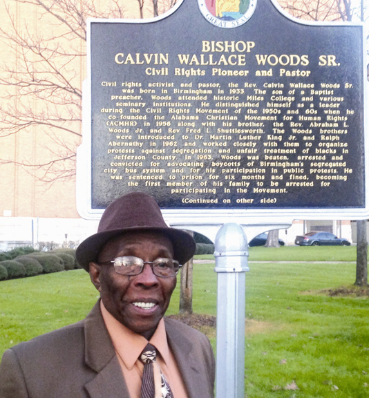 Bishop Calvin Woods Sr., Birmingham, Ala.