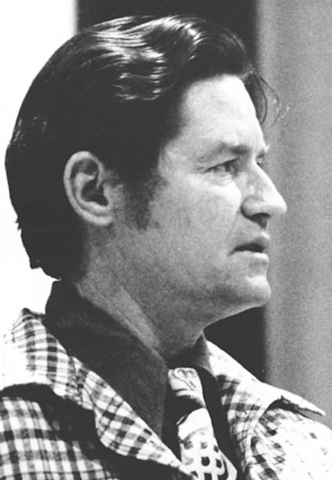 Desegregation specialist Dr. Charles Glatt, murdered by Neal Bradley Long in 1975. Dayton Daily News Archive, Wright State Univ.