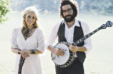 Doni Zasloff and Eric Lindberg combine Jewish lyrical themes with a pure bluegrass sound as the group Nefesh Mountain. BAM Photography.