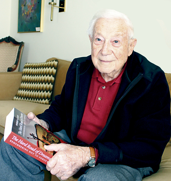 Robert Kahn started writing his autobiography 27 years ago. Photo: Marshall Weiss