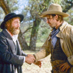 Gene Wilder and Harrison Ford in the 1979 comedy The Fricso Kid. Photo: Warner Bros.