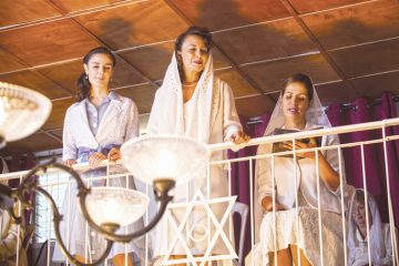 A scene from The Women's Balcony. Menemsha Films.