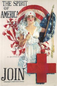 American Red Cross membership poster, 1919. Dayton Metro Library.