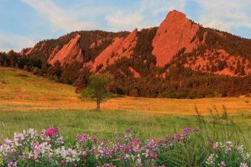 The Flatirons, Boulder, Colo. Boulder CVB.