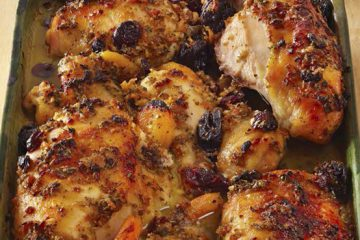 Chicken With Dried Fruit