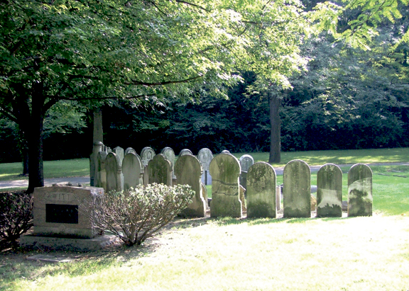 Founders' Circle at Temple Israel's Riverview Cemetery