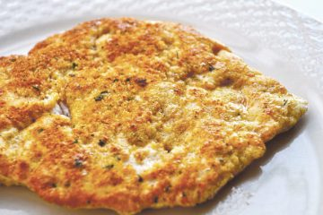 Passover-Friendly Chicken Schnitzel
