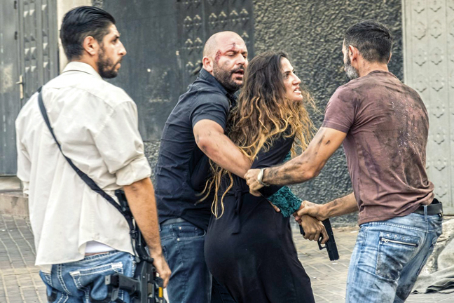 A scene from the second season of Fauda. Photo: Ronen Akerman/YES.