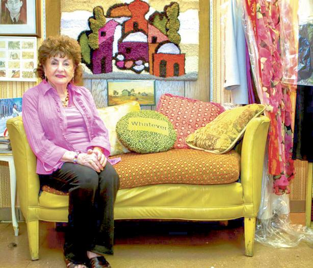 Sonia Warshawski in the documentary Big Sonia