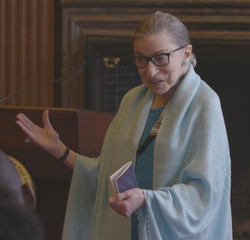 Ruth Bader Ginsburg has attained pop culture icon status in the last decade. Photo: Magnolia Pictures