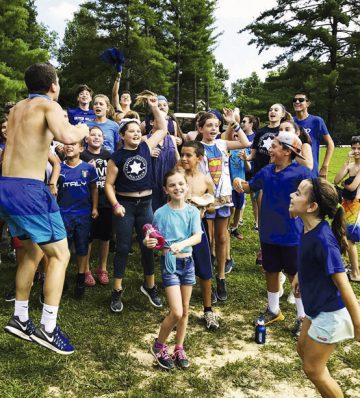 According to Screen Education's 2017 study of session one campers at Camp Livingston, 92 percent experienced gladness and 41 percent experienced frustration at having no smartphone access at camp. Photo: Camp Livingston.