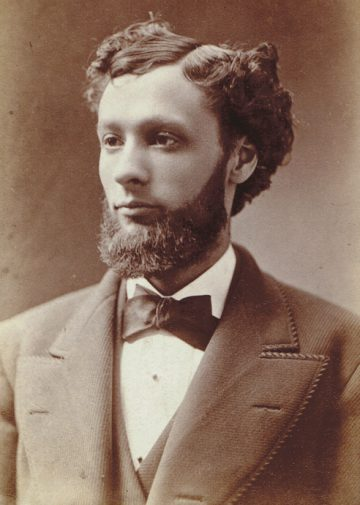 By the 1870s, Prussian-born Jew Gustave 'Gus' Lindeman was one of Cincinnati's most popular caterers. Photo courtesy of Ellen Notbohm.