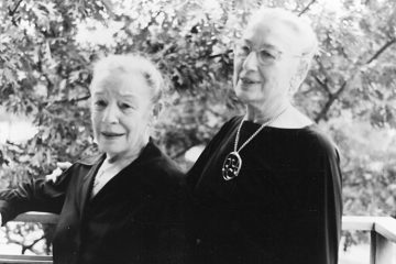 Sisters Hermene (L) and Josephine Schwarz, founders of the Dayton Ballet, the Schwarz School of Dance, and the Linden Center Dance School. Photo: Dayton Daily News Collection, Special Collections  & Archives, Wright State University