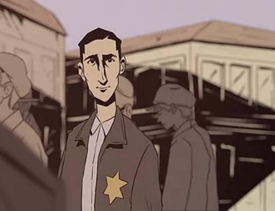 Animated segment from Dear Fredy