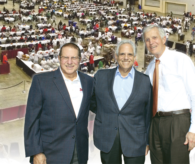 Feast of Giving, Thanksgiving in Dayton Co-Chairs (L to R) Dr. Stephen Levitt, Mike Shane, Dr. Thomas Olsen.
