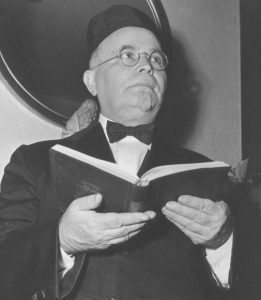 Rabbi Samuel Burick, shown here in later years, served Beth Abraham from 1906 to 1949. Photo: Lawrence Burick.