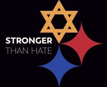 Meme in solidarity with the Pittsburgh Jewish community following the murder of 11 Jews at Tree of Life Synagogue, Oct. 27.