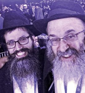 Chabad of Greater Dayton's Rabbi Levi Simon (L) & Rabbi Shmuel Klatzkin at the conference.
