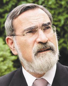Rabbi Lord Jonathan Sacks concludes that 'it is in one-who-is-different that we meet God'. Photo: United Synagogue.