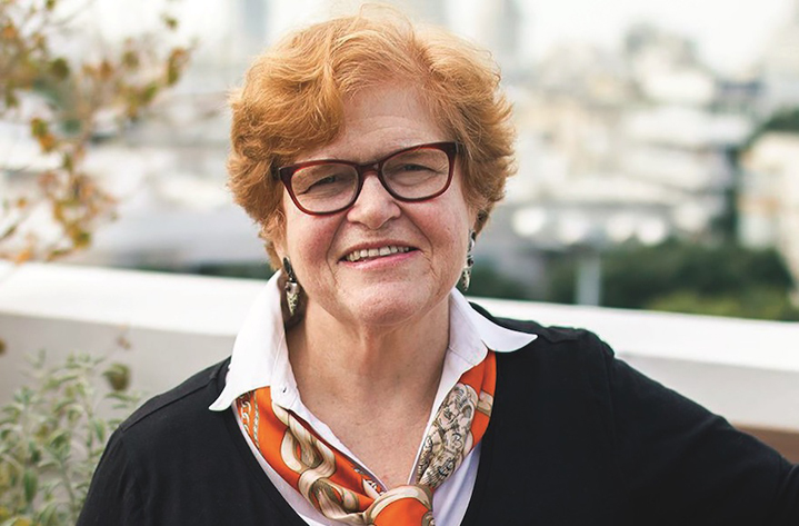 Deborah Lipstadt, the renowned Holocaust historian, is the author of the forthcoming book Antisemitism Here and Now. Photo: Osnat Perelshtein.