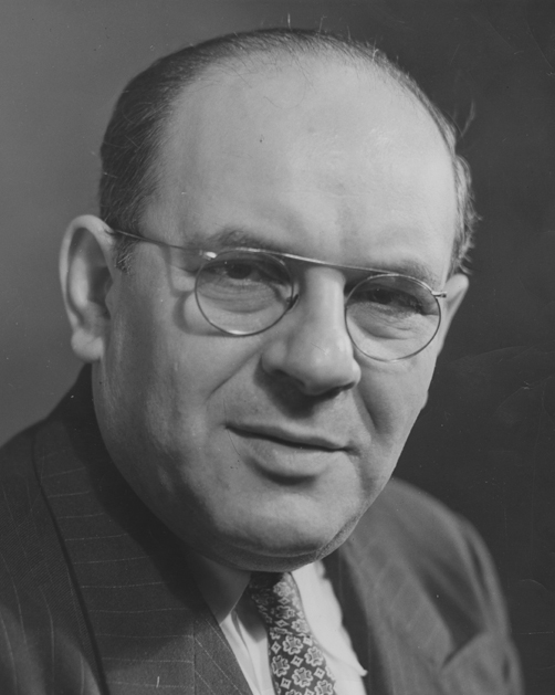 Max Kohnop was editor of the Sunday Dayton Daily News from 1939 to 1964. Photo: DDN Collection, Special Collections & Archives, Wright State University.