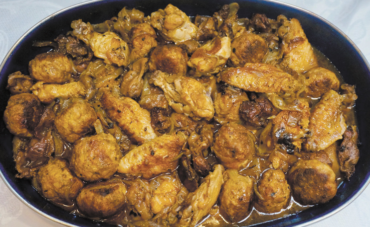 chicken fricasee