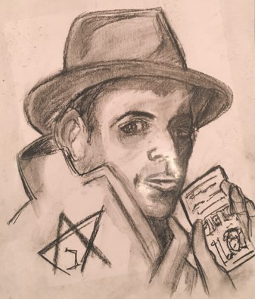 Entry from the 2018 Max May Memorial Holocaust Art Contest