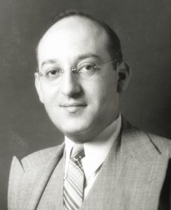Leonard S. Becker oversaw the Miami Valley Brewing Company from 1934 — after Ed Rauh broke off from the company — until its closing in 1950. Photo: Jewish Federation of Greater Dayton.