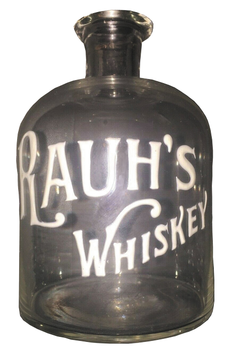 In 1893, Rauh began distilling his own brand of whiskey