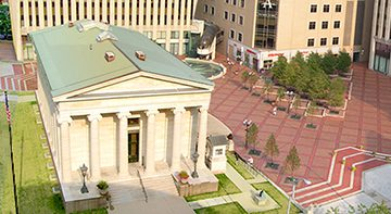 Courthouse Square, Downtown Dayton. Photo: DCVB.