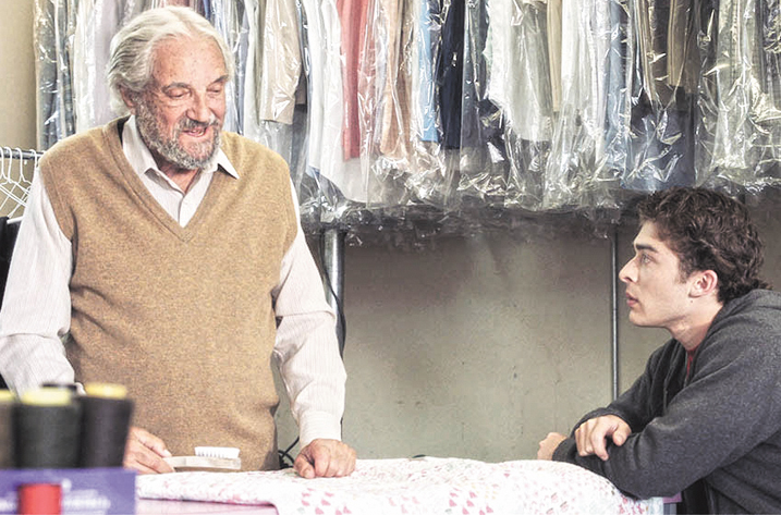 Hal Linden (L) and Ryan Ochoa in The Samuel Project. Photo: in8 Releasing.
