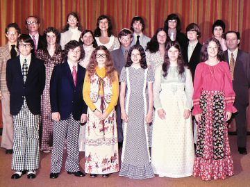 Dayton Bureau of Jewish Education 1973 Hebrew School graduation was the first post at the Facebook group Growing Up Jewish in Miami Valley, Ohio on April 24. Since then, the group has attracted nearly 800 members, who have shared hundreds of photos and memories. Photo: Jewish Federation of Greater Dayton.